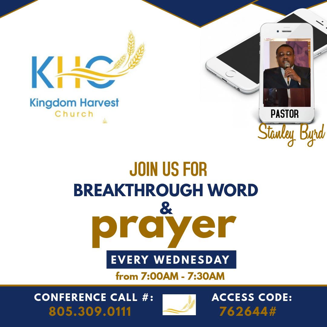 Breakthrough Prayer Call