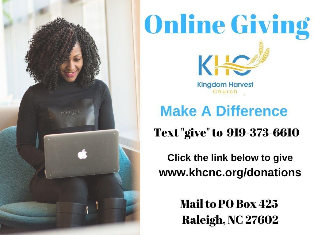 Kingdom Harvest Church Online Giving